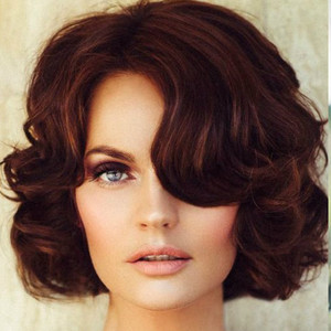77158wedding wavy bob hairstyles 2017