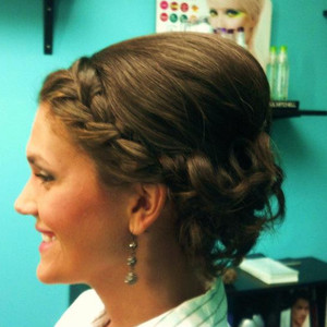 Crystal updo