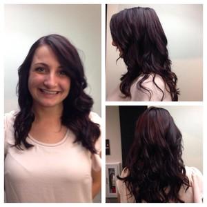 Katie r violet hair