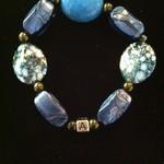 Adonai blue turquois