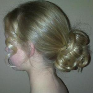 Updo left side